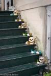 Skulls on Steps