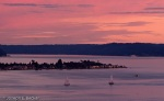 Alki Point at Sunset