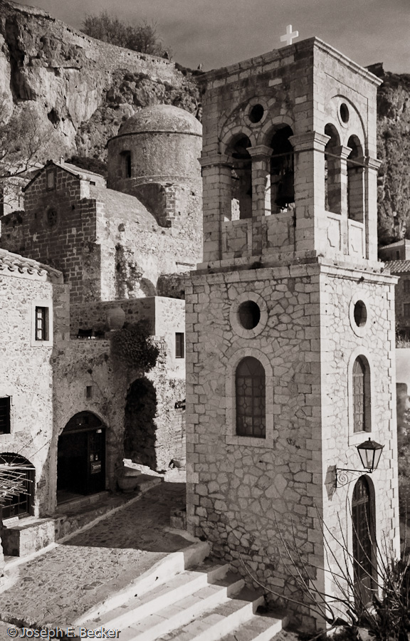 Bell Tower in Monemvassia Greece