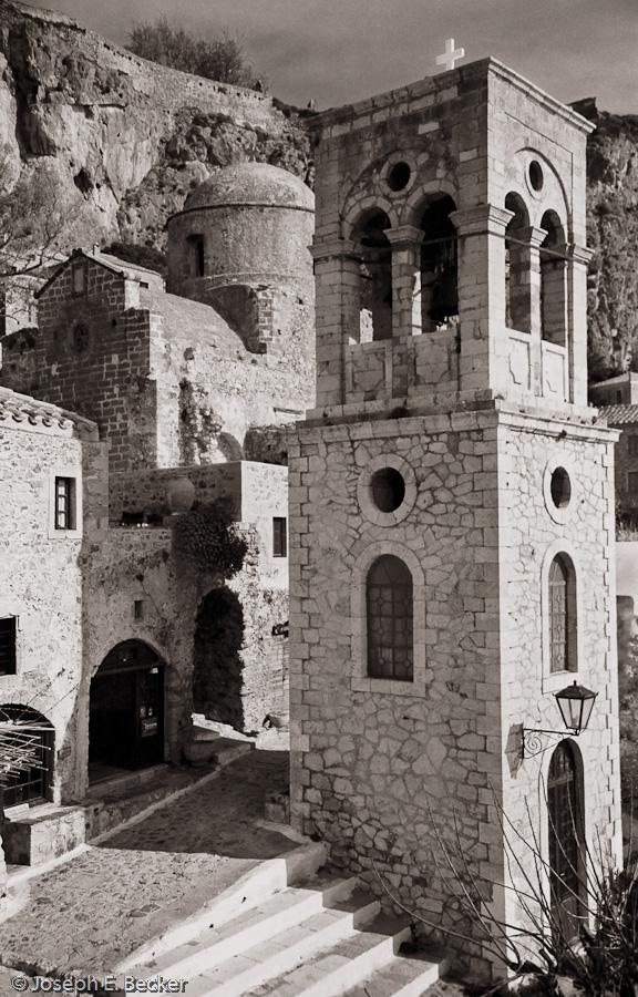 Bell Tower in Monemvassia Greece