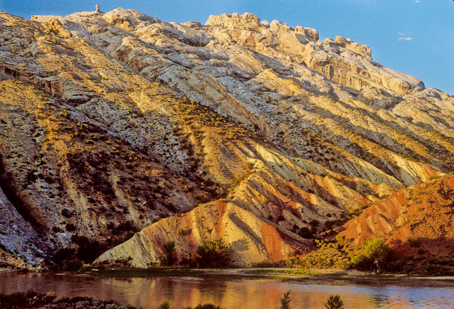 Split Mountain at Dinosaur National Monument, circa 1983