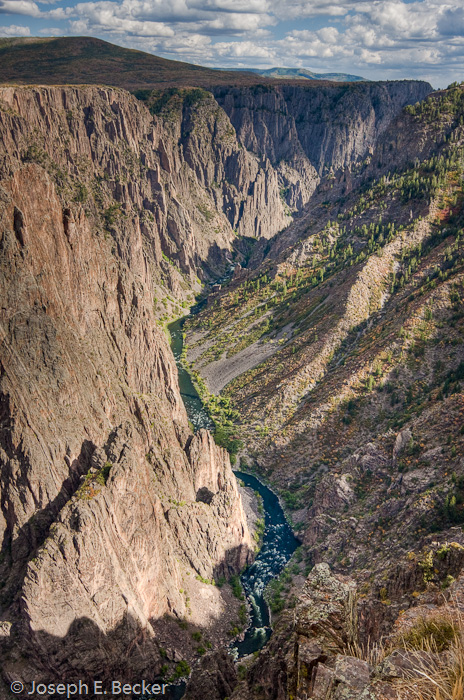 Black Canyon from Pulpit Rock