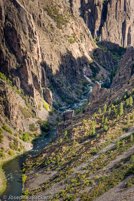 Canyon Bottom from Pulpit Rock