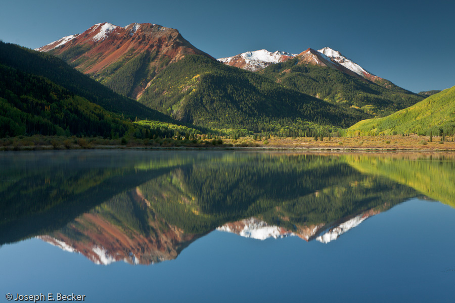 Red Mountain and Crystal Lake