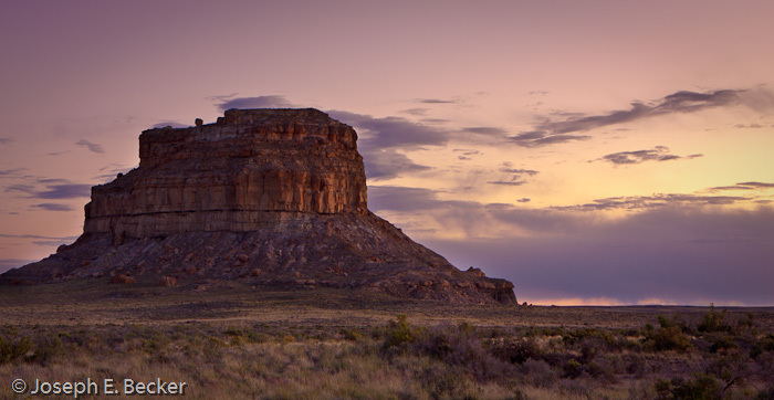 Fajada Butte sunset