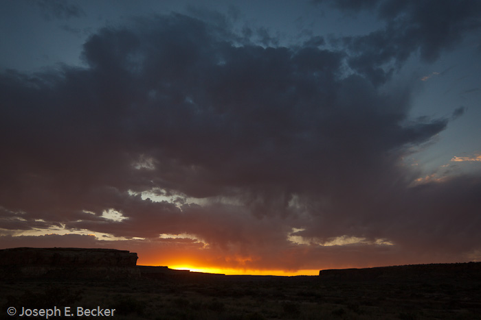 Sunrise at Chaco Canyon