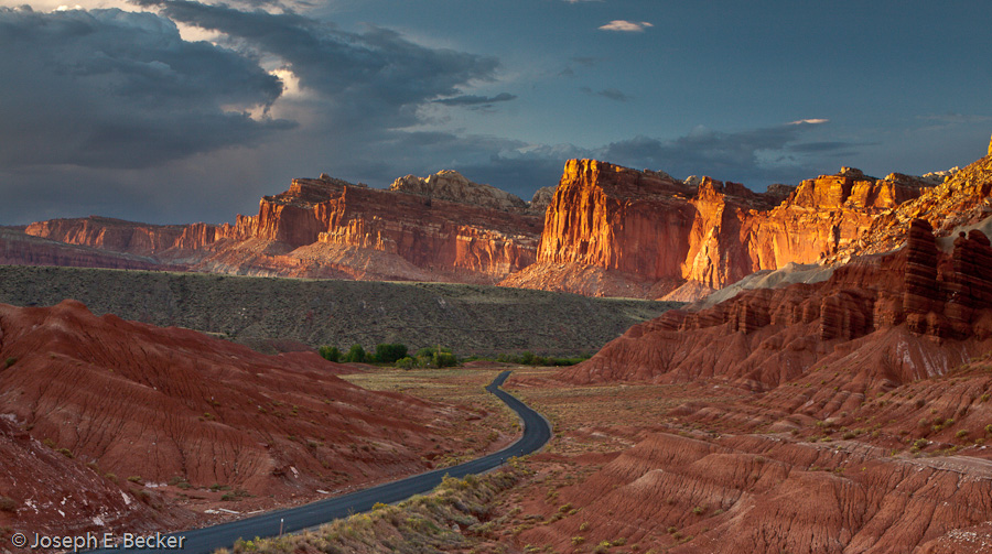Capital Reef along the Scenic Drive