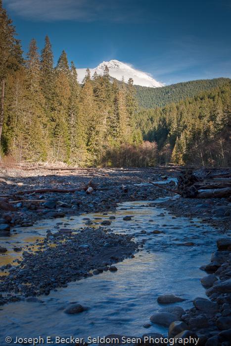 Along Tahoma Creek