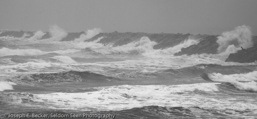 Waves on the Jetty