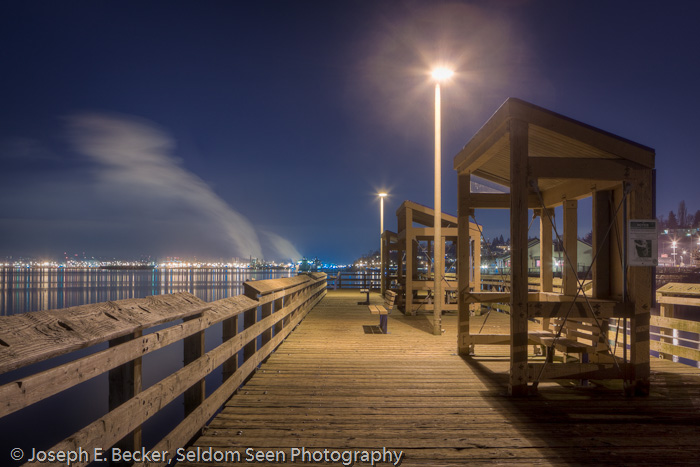 NIght on the Pier