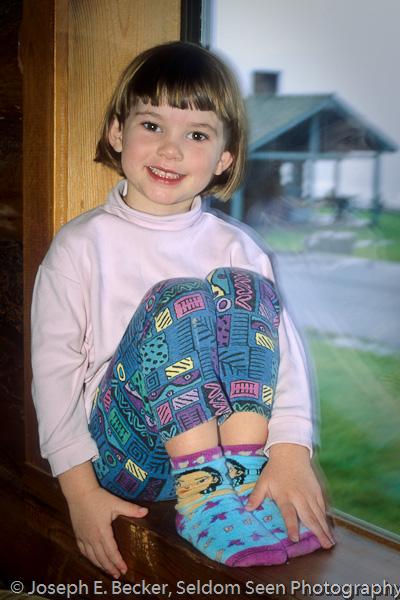 Janelle at 5