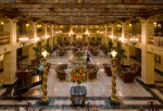 Lobby of the Davenport Hotel