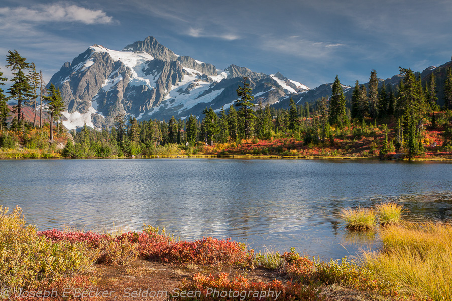 Shuksan and Picture Lake
