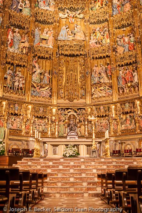 Toledo's High Altar