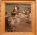 The Dance Class by Degas with auto whitebalance