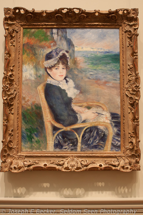 By the Seashore by Renoir with auto white balance