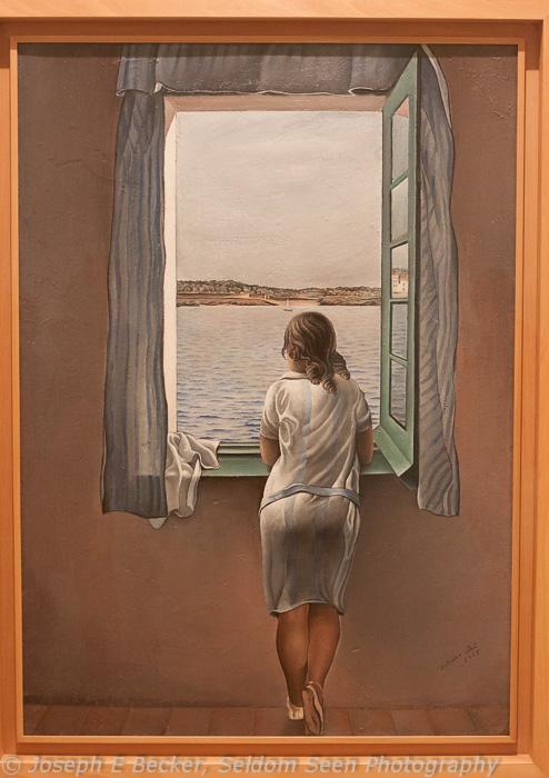Girl at the Window auto white balance