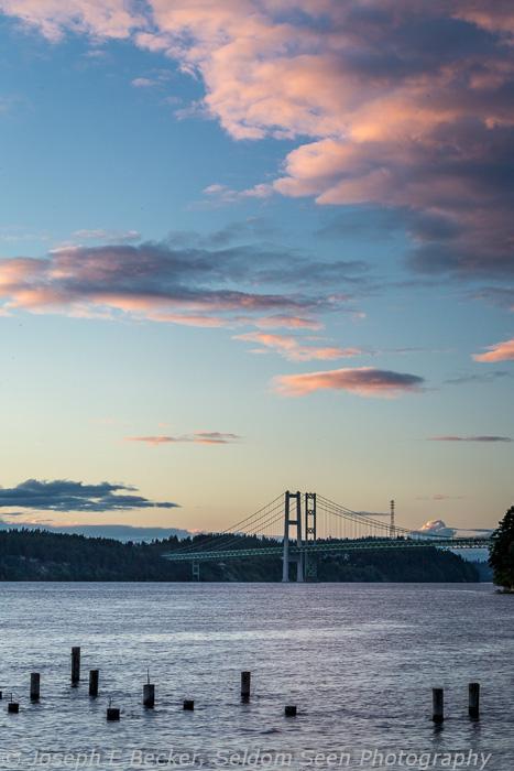 Tacoma Narrows Sunset