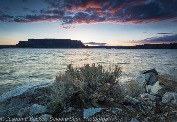 Steamboat Rock Sunset