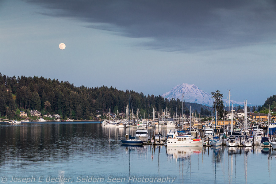 Gig Harbor Moon