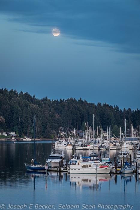 Gig Harbor Moon2