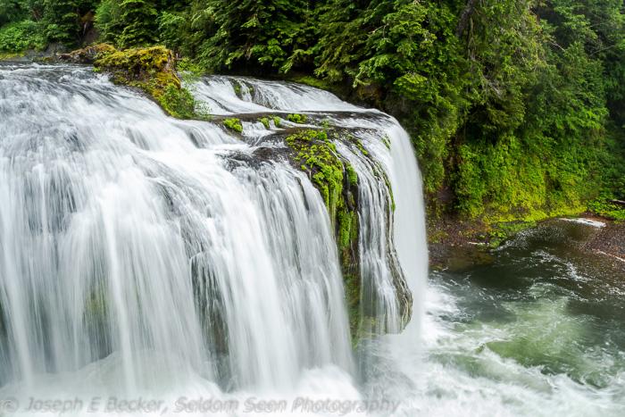 Portion of Upper Lewis River Falls