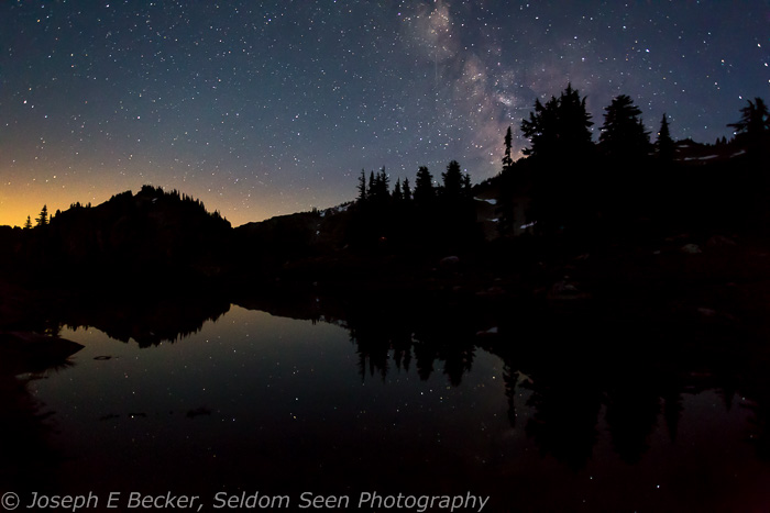 Milky Way and Pond