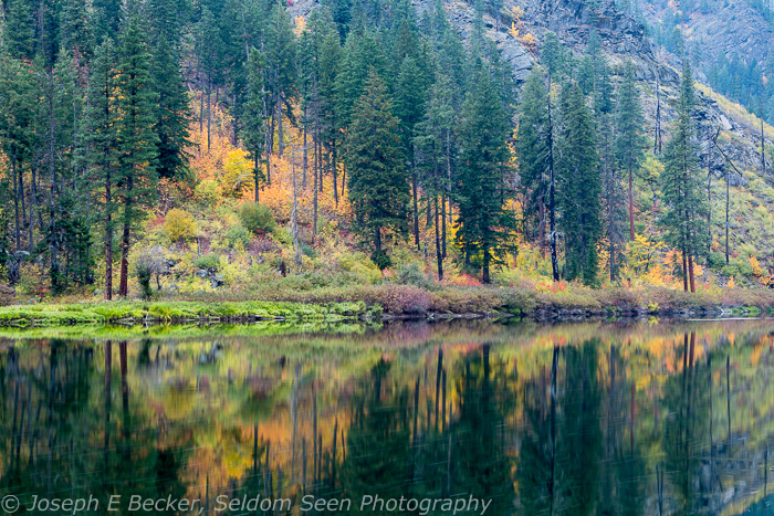 Tumwater Canyon Color