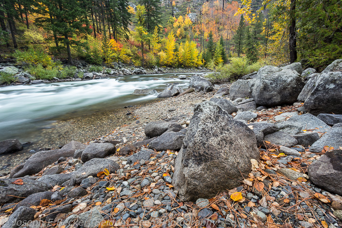 Another shot of the Wenatchee River