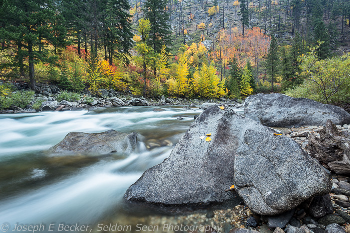 More along the Wenatchee River in Tumwater Canyon