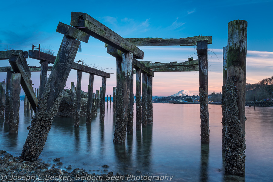 Rainier and Pilings