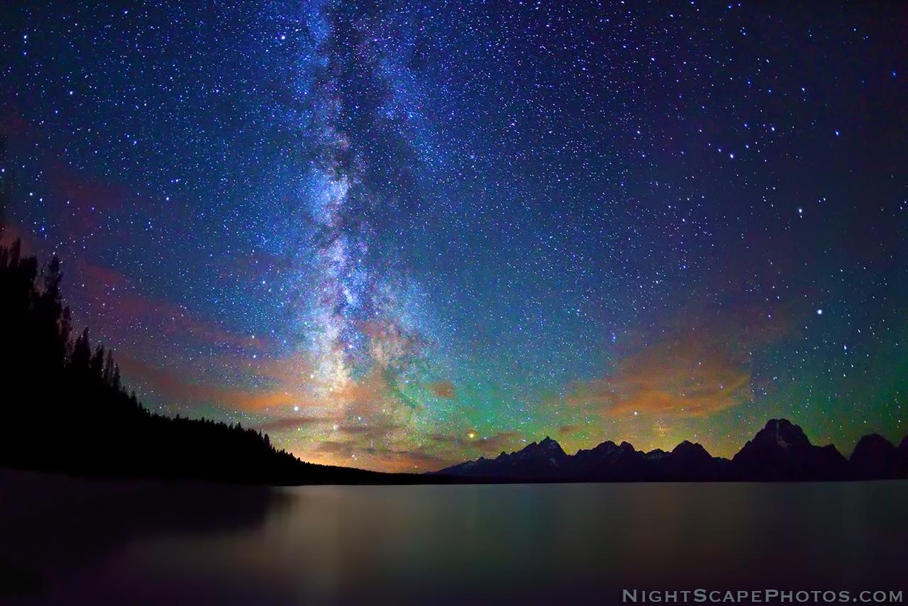Northern Lights Jesus