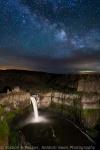 Night at Palouse Falls