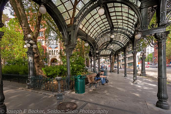 Pioneer Square Pergola