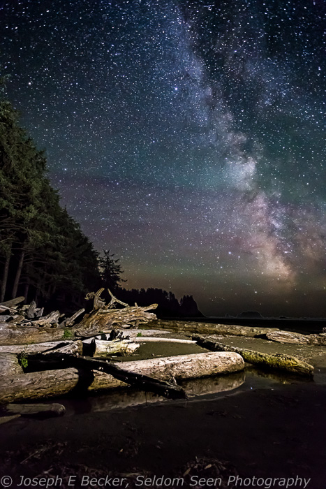 Milky Way over Kayostia Beach