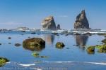 Sea Stack Reflection