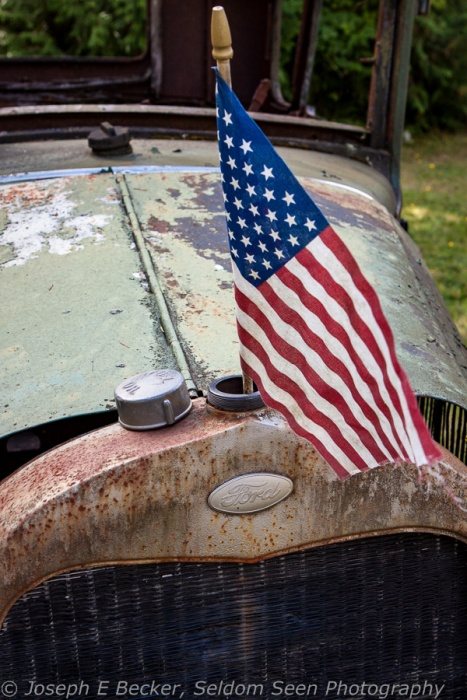 Ford and Flag