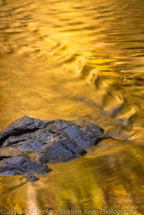 Reflections in the Breitenbush River