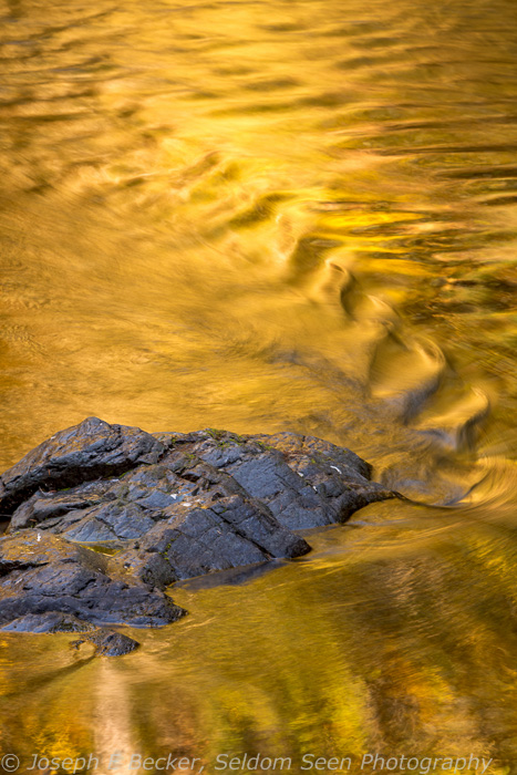 Reflections in the Breitenbush River