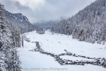 Nisqually River in Winter