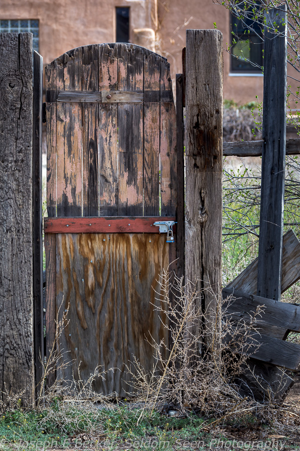 Or how about this one, a door without the fence