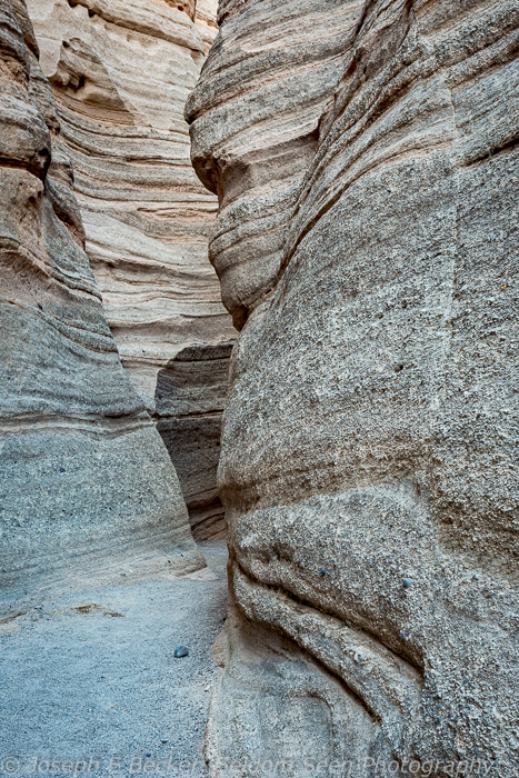 This is near the narrowest portion of the slot canyon