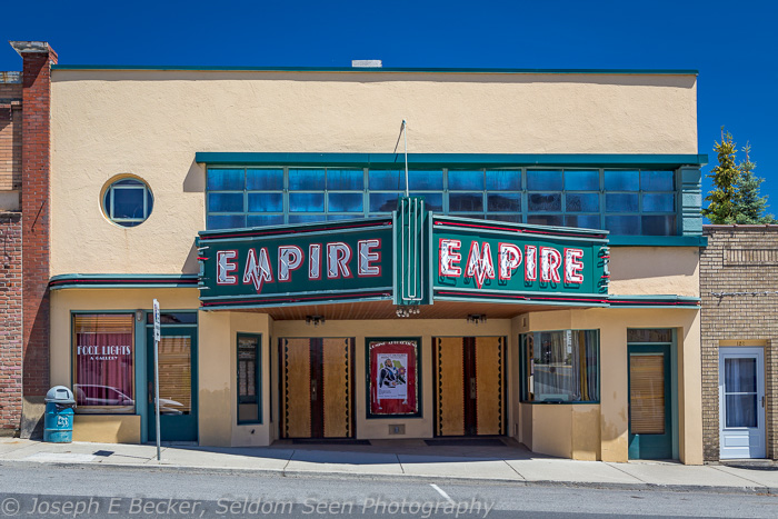 The class Empire Theater in the town of Tekoa