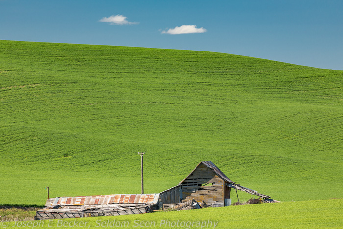 Old barn on Scholtz Road