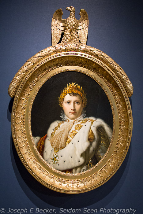 Painting of a young Napoleon Bonaparte in the Montreal Museum of Fine Arts