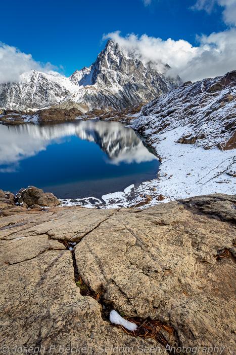 Ingalls Lake and Mount Stewart