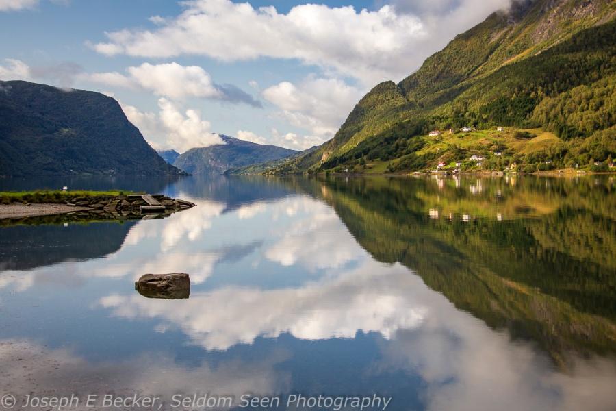 Fjord Mirror