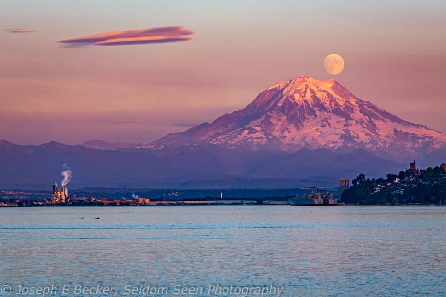 Rainier Moon 2